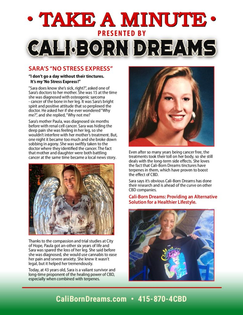 Take A Minute - Sara | Cali-Born Dreams